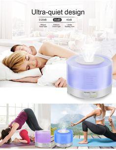 7 színben világító, programozható LED lámpás ultrahangos aroma diffúzor távirányítóval! A vízzel feltöltött tartályba csepegtessen pár cseppet kedvenc illóolajából, kapcsolja be a készüléket, és élvezze a kellemes illatot! A távirányító segítségével könnyen váltogathatja a lámpa színét, és a párologtatás intenzitását.