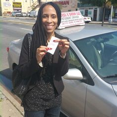 Tyrene needed to get her #driverslicense asap.  She came to us took her #5hourclass a few #lessons and now she is #licensed again.  #access2drive #drivingschool #learntodrive #teamaccess #welovewhatwedo www.drivingschoolsqueens.com