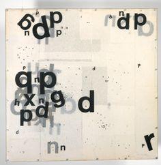 Mira Schendel Graphic Object 1967–8 Colección Patricia Phelps de Cisneros © mira schendel estate