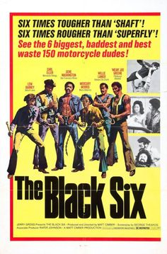 The Black Six Film Noir Classic Movie Posters Movies Cinema