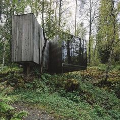 """hypebeast:  """"Unusual spots: Juvet Landscape Hotel, Norway."""" by STYLEPX.com"""