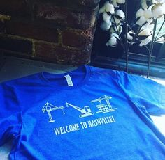 Welcome to Nashville!! Construction, construction, construction... #nashville #underconstruction #mainstreetrepublic #marathonvillage #vintage #screenedthreads