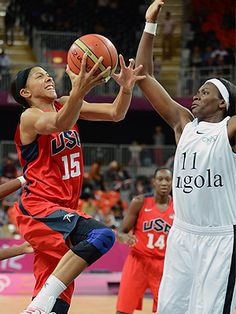 Candice Parker is another one of my favorite basketball players I look up to.