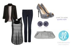Sparkle Outfit Ideas from Catie Ronquillo Photography