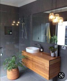 Bathroom Remodel On A Budget, Bathroom Remodel Small, Bathroom Remodel DIY, Bathroom Remodel Ideas Vanity, Bathroom Remodel Ideas Master. Wood Bathroom, Bathroom Colors, Modern Bathroom, Bathroom Lighting, Bathroom Ideas, Bathroom Remodeling, Bathroom Vanities, Bathroom Small, Minimalist Bathroom