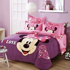 Like and Share if you want this  New Style Fashion Minnie Mouse Bedding Set     Tag a friend who would love this!     FREE Shipping Worldwide     Buy one here---> https://www.cancoot.com/new-style-fashion-minnie-mouse-bedding-set/