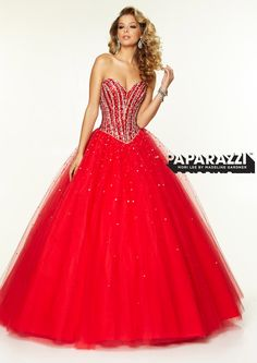 Mori Lee Dress 95073   Beautiful, Red sparkly dress and Gowns