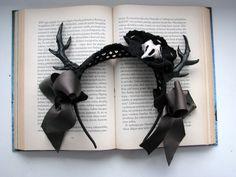 Gothic Lolita Dear Horns Hair Band ∙ Creation by CountessAudronasha on Cut Out + Keep