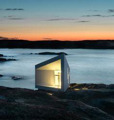 Squish Studio, Fogo Island, Newfoundland, Canada by Todd Saunders