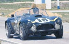 DSG in one of Shelby's entries at Sebring in 1964