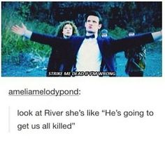 River song and the Doctor