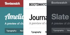 Customize bootstrap.