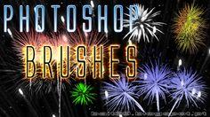 Pincéis (Brushes) Fogo de Artifício para Photoshop | Bait69blogspot