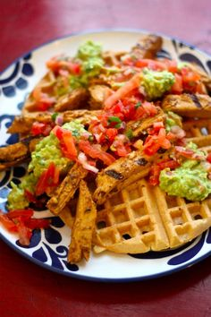 Vegan Mexican Chicken & Waffles - Vegetarian & Vegan Recipes