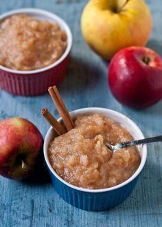 Crock Pot Applesauce | Neighborfoodblog.com