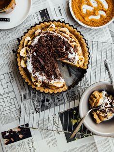 Coconut banoffee pie