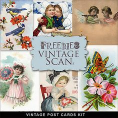 Freebies Vintage Photocards