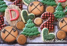 "317 Likes, 22 Comments - Sara Miles | Sweet Smiles (@sara_sweetsmiles) on Instagram: ""I love it when lumberjacks have birthdays!   @megankampman"""