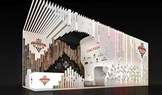 Exhibition stand project at the 23th international exhibition for food, beverages and food raw materials