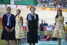 RIO DE JANEIRO - Prinses Margriet heeft donderdag op de Paralympische Spelen in…