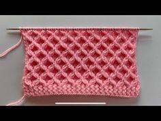 baby bunt Beautiful knitting design/pattern for sweater/ladies cardigan/baby sweater Designer Knitting Patterns, Knitting Designs, Knitting Videos, Knitting Stitches, Knitting Needles, Pull Bebe, Big Knit Blanket, Jumbo Yarn, Crochet Stitches
