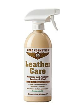 Leather Conditioner UV Protectant Aircraft Grade Leather Care 16oz better than automotive products. Excellent for Furniture cars seats & RV 's does not leave dirt attracting residue. - https://www.caraccessoriesonlinemarket.com/leather-conditioner-uv-protectant-aircraft-grade-leather-care-16oz-better-than-automotive-products-excellent-for-furniture-cars-seats-rv-s-does-not-leave-dirt-attracting-residue/  #16Oz, #Aircraft, #Attracting, #Automotive, #Better, #Care, #Cars,