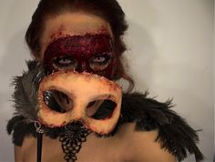 10 Scary Face Ideas For Halloween…