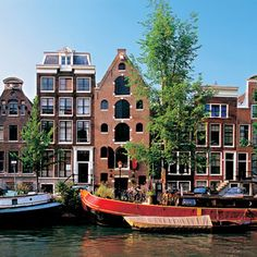 Cruise through the delightful canals of Amsterdam #AvalonWaterways #RiverCruising