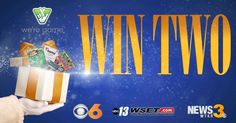 Click here to register for your chance to WIN TWO gifts packed with Virginia Lottery Holiday Scratchers —  One to give to friends or family and one just for you! There are 12 days of prizes! Randomly selected winners during Good Morning Virginia at 6am on ABC-13 beginning Monday, Dec. 4 and continuing each weekday through Tuesday, Dec. 19. The deadline to enter is Thursday, Dec. 14.