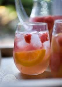 Culinary Word of the Day: Spring Sangria  A light and refreshing white sangria made with pineapple and fresh citrus! The perfect drink for springtime!