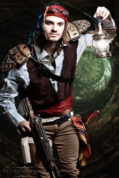 Image result for steampunk pirate