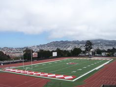 This stadium gallery comes to you courtesy of me and my trip to San Francisco last month. College Football America's Kendall Webb will actually see these Rams on Friday night against Diablo Valley.
