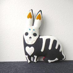 X-ray rabbit. #etsyfinds #etsyhalloween