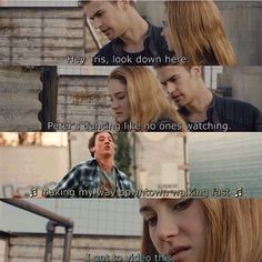 Divergent and Spectacular Now. Peter!