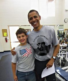 Obama Spotted Wearing Aleister Crowley T-Shirt: Fact or Fiction? The infamous satanist's face appears on a t-shirt worn by President Barack Obama allegedly t.