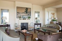 Another view of the Living Room in Montecito
