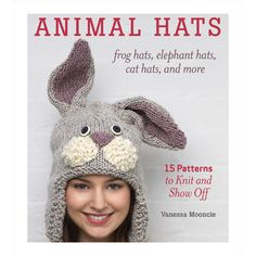 Need a break from quilting? Then get a copy of this very popular book full of free knitting patterns that you can use to make adorable animal hats for everyone you know. There's over 100 pages, so you're sure to be busy for months!