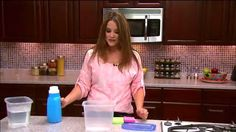 Charity demonstrates how to make homemade Fabric Softner - Julie & Friends