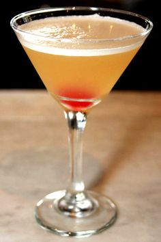 Italian Wedding Cake Martini    Stemless Cherry    1.25 oz Absolut Vanil    .75 oz Disarrono    .5 oz Pineapple juice