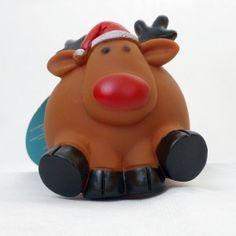 Reindeer Squeaky Dog Toy
