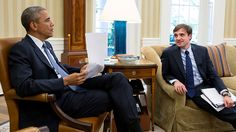 President Barack Obama meets with Chase Cushman, Director of Scheduling and Advance, in the Oval Office, May 22, 2015. (Official White House Photo by Pete Souza)