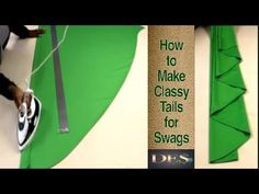 How to make Classy Tails for Swags - YouTube