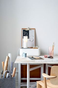 Check Out 25 Chic Scandinavian Home Office Designs. Scandinavian design is extremely popular now, so why not choose this style for your home office decor?