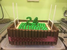 Rugby Cake :)