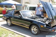 Datsun 280ZX Turbo. As seen at Sept. 2012 Cars and Coffee Austin TX USA.