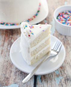 Vegan Vanilla Birthday Cake - The Cake Merchant
