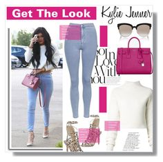 """""""Kylie Jenner Look"""" by luna-jancek ❤ liked on Polyvore featuring Dion Lee, Topshop, Sophia Webster, Christian Dior, Yves Saint Laurent and KylieJenner"""