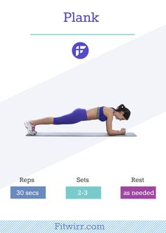 Pank exercise. #plank #abs #core