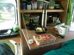 Ford Transit Connect mini camper in South America ; www.criens.nl