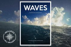 W A V E S Magazine WAVES Magazine is a professional quality, easy to use artwork. Featuring minimal design, excellent use of white space and strong font use, this template is packed full of great page layouts suitable for a wide variety of projects.